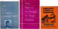 Books:Pamphlets & Tracts, Three Communist Pamphlets.... (Total: 3 Items)
