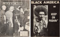 Books:Pamphlets & Tracts, Two Black Protest Printings.... (Total: 2 Items)