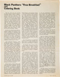 Miscellaneous, Anti-Black Panther Article Published in Combat, Vol. 1, No. 22.... (Total: 2 Items)