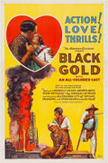 Miscellaneous:Movie Posters, Black Gold (Norman, 1928)....