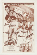 Miscellaneous:Movie Posters, The Fight Never Ends (Alexander Productions, 1948)....