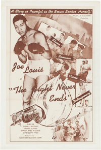 The Fight Never Ends (Alexander Productions, 1948)