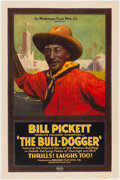 Miscellaneous:Movie Posters, The Bull-Dogger (Norman, 1921)....