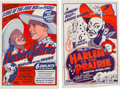Miscellaneous:Movie Posters, Harlem on the Prairie (Toddy Pictures, 1937)....