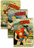 Golden Age (1938-1955):Science Fiction, Captain Atom #3, 4, and 7 Group (Nationwide Publications, 1951)Condition: Average FN.... (Total: 3 Comic Books)