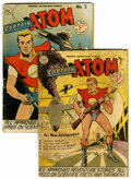 Golden Age (1938-1955):Science Fiction, Captain Atom #2 and 3 Group (Nationwide Publications, 1951)Condition: Average VG-.... (Total: 2 Comic Books)