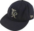 Baseball Collectibles:Hats, Circa 1997 Carlos Guillen Game Worn Minor League Cap. The All-Star shortstop put fine wear into this cap as a member of a T...