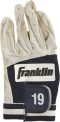 Baseball Collectibles:Uniforms, Circa 2001 Tony Gwynn Game Used Batting Glove. The Hall of Famehero of the San Diego Padres wore this Franklin glove upon ...
