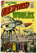 Silver Age (1956-1969):Horror, Mysteries of Unexplored Worlds #2 (Charlton, 1957) Condition:FN+....