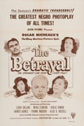 Miscellaneous:Movie Posters, The Betrayal (Astor Pictures, 1948)....