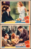 "Movie Posters:Drama, Riffraff (MGM, 1936). Very Fine-. Lobby Cards (2) (11"" X 14""). Drama.. ... (Total: 2 Items)"