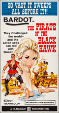 """Movie Posters:Adventure, The Pirate of the Black Hawk (Filmgroup, 1961). Folded, Fine/Very Fine. Three Sheet (41"""" X 79""""). Adventure.. ..."""
