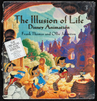 """Illusion of Life: Disney Animation (Hyperion, 1995). Mint. Hardcover Book (576 Pages, 10.75"""" X 11.25""""). Animat..."""