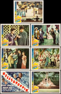 """Movie Posters:Comedy, Hellzapoppin' (Universal, 1941). Fine+ on Paper. Title Lobby Card& Lobby Cards (6) (11"""" X 14""""). Comedy.. ... (Total: 7 Items)"""
