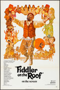 """Movie Posters:Musical, Fiddler on the Roof (United Artists, 1972) Flat Folded, Very Fine-.One Sheet (27"""" X 41""""). Ted Coconis Artwork. Musical.. ..."""
