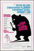 "Movie Posters:Comedy, The Return of the Pink Panther (United Artists, 1975). Folded, VeryFine-. One Sheet (27"" X 41"") Style A, R.W. Artwork. Come..."