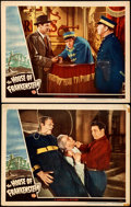 """Movie Posters:Horror, House of Frankenstein (Universal, 1944). Fine/Very Fine. Lobby Cards (2) (11"""" X 14"""").. ... (Total: 2 Items)"""