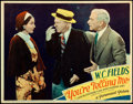 Movie Posters:Comedy, You're Telling Me (Paramount, 1934). Fine/Very Fine.