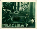 """Movie Posters:Horror, Dracula (Universal, R-1939). Fine- on Paper. Lobby Card (11"""" X 14"""").. ..."""