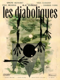 "Movie Posters:Horror, Les Diaboliques (Cinedis, 1955). Fine/Very Fine on Linen. FrenchGrande (47"" X 63"") Style B, Raymond Gid Artwork.. ..."
