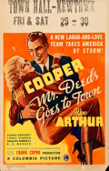 Movie Posters:Comedy, Mr. Deeds Goes to Town (Columbia, 1936). Fine+. Wi...