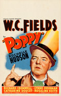 "Movie Posters:Comedy, Poppy (Paramount, 1936). Fine/Very Fine. Window Card (14"" X 22"")....."