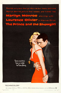 """The Prince and the Showgirl (Warner Brothers, 1957). Folded, Very Fine+. One Sheet (27"""" X 41"""")"""