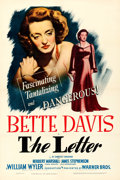 Movie Posters:Film Noir, The Letter (Warner Brothers, 1940). Very Fine+ on Linen.