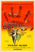 "Movie Posters:Science Fiction, Invasion of the Body Snatchers (Allied Artists, 1956). Fine+ on Linen. One Sheet (27"" X 41"").. ..."