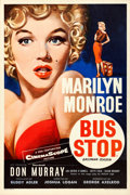 "Movie Posters:Drama, Bus Stop (20th Century Fox, 1956). Rolled, Very Fine+. British Double Crown (20"" X 30"") Tom Chantrell Artwork.. ..."