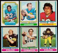 Football Cards:Sets, 1974 Topps Football Complete Set (528) Plus 1974 Topps Parker Brothers Set (50). ...