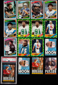 Football Cards:Lots, 1984-86 Topps Football Collection (646) With Stars. ...