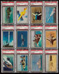 """Non-Sport Cards:Sets, 1954 Bowman """"Power For Peace"""" Near Set (92/96). ..."""