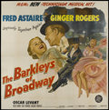 """Movie Posters:Musical, The Barkleys of Broadway (MGM, 1949). Six Sheet (81"""" X 81"""").Musical...."""
