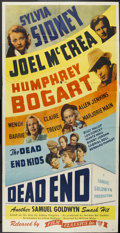 "Movie Posters:Crime, Dead End (Film Classics, R-1944). Three Sheet (41"" X 81"").Crime...."