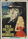 "Movie Posters:Film Noir, Dead Reckoning (Columbia, R-1958). Italian 4 - Folio (55"" X 78"").Film Noir...."