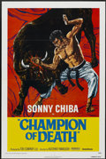 """Movie Posters:Action, Champion of Death (United Artists, 1976). One Sheet (27"""" X 41""""). Action...."""