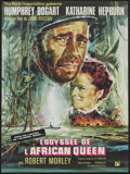 """Movie Posters:Adventure, The African Queen (Rank, R-1965). French Petite (23.5"""" X 31.5"""").Adventure...."""