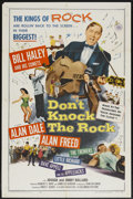 """Movie Posters:Rock and Roll, Don't Knock The Rock (Columbia, 1957). One Sheet (27"""" X 41""""). Rockand Roll...."""