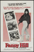 """Movie Posters:Adult, Fanny Hill (Cinemation Industries, 1969). One Sheet (27"""" X 41""""). Adult...."""