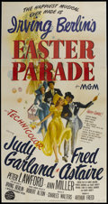 """Movie Posters:Musical, Easter Parade (MGM, 1948). Three Sheet (41"""" X 81"""") Style A.Musical...."""