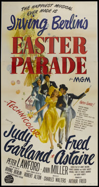 "Easter Parade (MGM, 1948). Three Sheet (41"" X 81"") Style A. Musical"