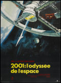 """Movie Posters:Science Fiction, 2001: A Space Odyssey (MGM, 1968). French Grande (45.5"""" X 61.5"""").Science Fiction...."""