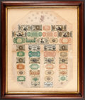 Fr. 1382 Fractional Currency Shield, With Pink Background