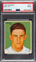 Baseball Cards:Singles (1930-1939), 1933 Goudey Mel Ott #127 PSA Mint 9 - None Higher! ...