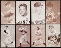 Baseball Cards:Lots, 1947-1966 Exhibit Baseball Collection (122) - Includes Mantle & Mays....