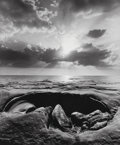 Photographs:Gelatin Silver, Jerry Uelsmann (American, b. 1934). Untitled, 1970. Gelatinsilver. 7-3/8 x 6-1/8 inches (18.7 x 15.6 cm). Signed and da...