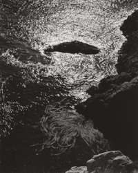 Edward Weston (American, 1886-1958) China Cove, Point Lobos, 1940 Gelatin silver, printed circa 1970