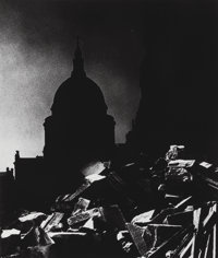 Bill Brandt (British, 1904-1983) St. Paul's Cathedral in Moonlight, 1939 Gelatin silver, printed lat