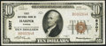 National Bank Notes:Kansas, Harper, KS - $10 1929 Ty. 1 First NB Ch. # 8307 Very Fine-Extremely Fine.. ...